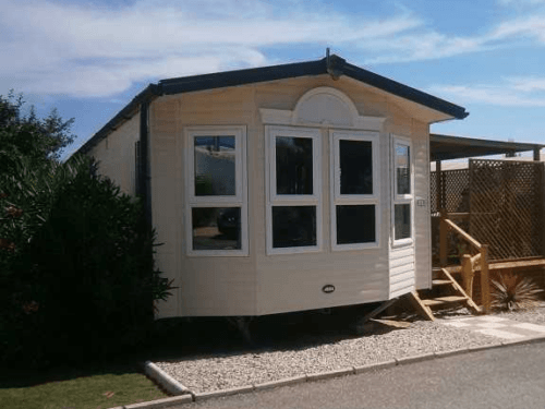 Exterior, Mobile Home, Caravan in the sun for sale in Spain